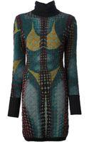 Jean Paul Gaultier Doublelayered Padded Dress - Lyst