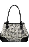 Nine West Show Stopper Medium Satchel - Lyst