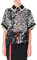 Preen By Thorton Bregazzi Clyde Printed Top - Lyst