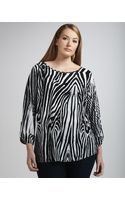 Alberto Makali Opticprint Stretch Tunic - Lyst