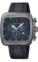 Gucci Coupe 44mm Chronograph Nylon Strap Watch - Lyst