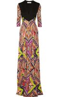 Matthew Williamson Raj Printed Jersey Gown - Lyst