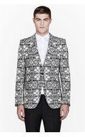 Alexander McQueen White Stained Glass Blazer - Lyst
