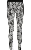 Dagmar Jane Jacquard-knit Leggings - Lyst