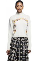 Suno Neck Sweater - Lyst