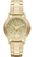 DKNY Womens Gold Ion Plated Stainless Steel Bracelet 32mm - Lyst