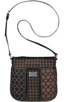 Nine West Mod Mix 9 Jacquard Medium Crossbody - Lyst