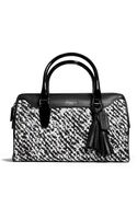 Coach Legacy Print Haley Satchel in Donegal Print Fabric - Lyst