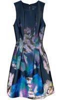 Cynthia Rowley Seamed Waist Dress - Lyst