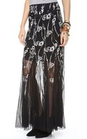 Free People Windswept Maxi Skirt - Lyst