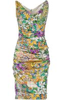 Dolce & Gabbana Kneelength Dress - Lyst
