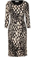 Precis Petite Animal Print Jersey Dress - Lyst