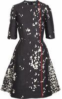 Preen By Thorton Bregazzi Atlantic Printed Sateen Dress - Lyst