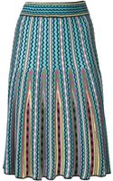 Missoni Geometric Print Skirt - Lyst