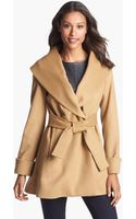 Trina Turk Belted Wrap Coat - Lyst