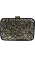 Nina Feana Sequined Clutch - Lyst