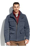 Tommy Hilfiger Quilted Bib 4pocket Field Coat - Lyst