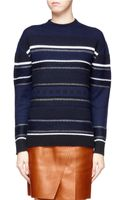 3.1 Phillip Lim Patterned Wool Blend Sweater - Lyst