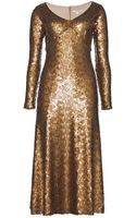 Marc Jacobs Sequined Dress - Lyst