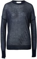 A.L.C. Proux Wool Pullover in Navy - Lyst