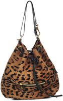 Jérôme Dreyfuss Alain Leopard-print Leather Bag - Lyst