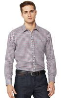 Ted Baker Ted Baker Mens Ls Check Flannel Shirt - Lyst