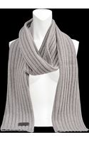 DSquared2 Ribbed Wool Scarf - Lyst
