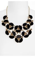 Kate Spade Disco Pansy Bib Necklace - Lyst
