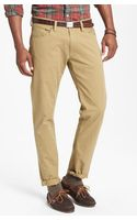 Polo Ralph Lauren Varick Slim Fit Five Pocket Pants - Lyst