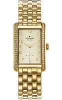 Kate Spade Cooper Grand Watch with Crystal Bezel - Lyst