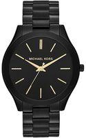 Michael Kors Slim Runway Stainless Steel Watch - Lyst