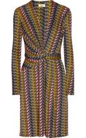Issa Printed Silk-jersey Dress - Lyst