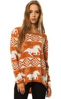 RVCA The Buddy Wild Horse Sweater - Lyst