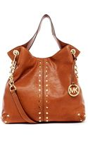 Michael by Michael Kors Large Uptown Astor Shoulder Tote - Lyst