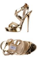 Jimmy Choo Sandals - Lyst