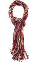 Missoni Knitted Scarf - Lyst
