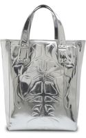 McQ by Alexander McQueen Kingsland Embossed Tote - Lyst