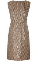 Marc Jacobs Sequin Embellished Shift Dress - Lyst