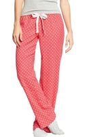 Old Navy Printed Flannel Pj Pants - Lyst