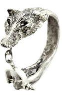 Paris Turf Wearable Art Reynard Fox Cuff - Lyst
