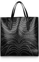 Alaïa Studded Leather Tote - Lyst