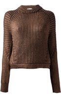 3.1 Phillip Lim Ribbed Sweater - Lyst