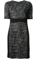 Michael by Michael Kors Printed Dress - Lyst