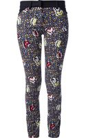 Balenciaga Printed Trouser - Lyst