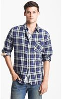 Rag & Bone Herringbone Plaid Shirt - Lyst