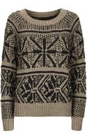 Alice + Olivia Snowflake Sweater - Lyst