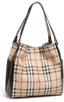 Burberry Canterbury Small Check Tote - Lyst