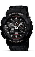 G-shock Black Extra Large Anadigi Watch 55mm - Lyst