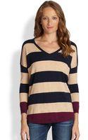 Joie Chyanne Striped Dolmansleeved Sweater - Lyst