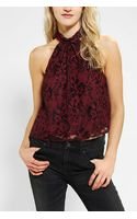 Urban Outfitters Pins and Needles Lace Open Back Top - Lyst